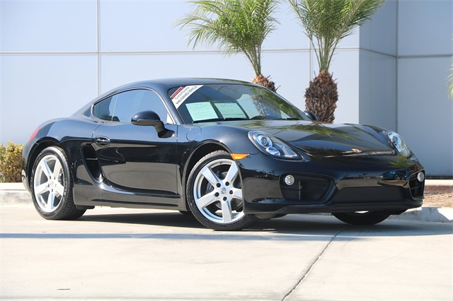 Certified Pre-Owned 2016 Porsche Cayman Base