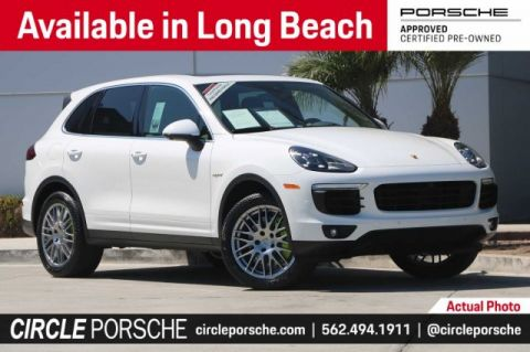 Certified Pre-Owned 2017 Porsche Cayenne S E-Hybrid